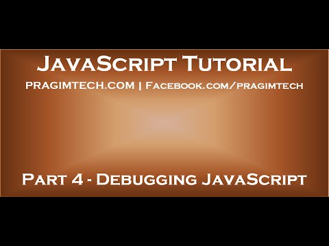 How to debug javascript in visual studio
