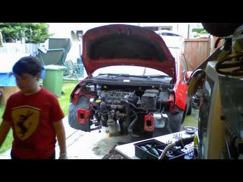 Engine fitting Corsa