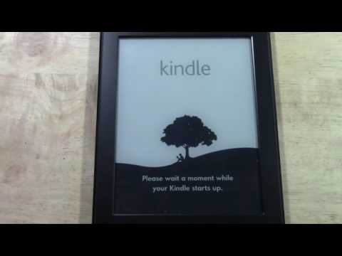 Kindle Paperwhite   How to Reset Back to Factory Settings​​​   H2TechVideos​​​ 2017