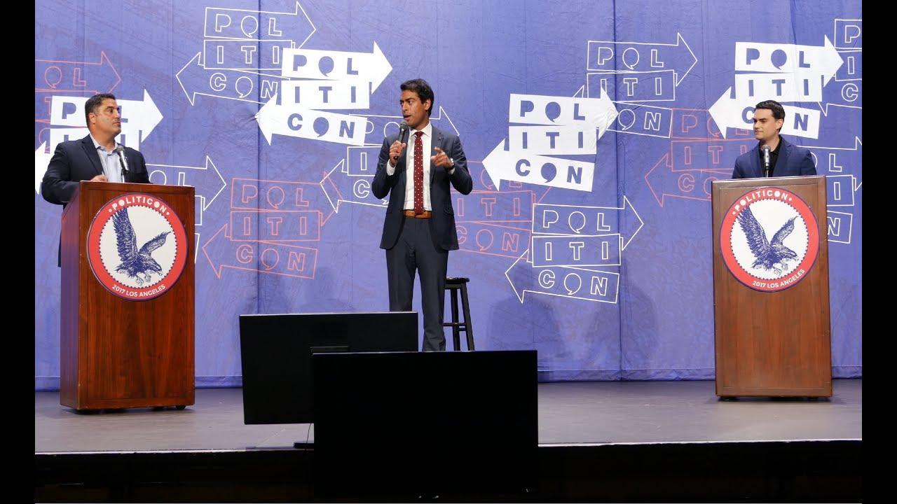 Politicon 2017: Cenk Uygur vs Ben Shapiro, with Steven Olikara