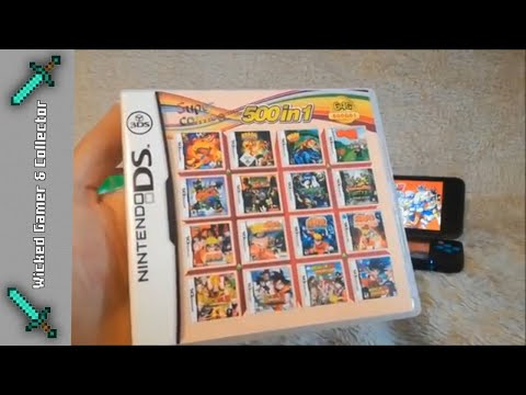 Nintendo NDS / 3DS / 2DS - \\ 500 in 1 Multi Cartridge // Ultimate Mega Mix Game Collection