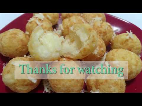 Simple Cassava Cheese Balls