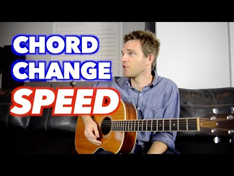 How to Get Faster at Changing Guitar Chords