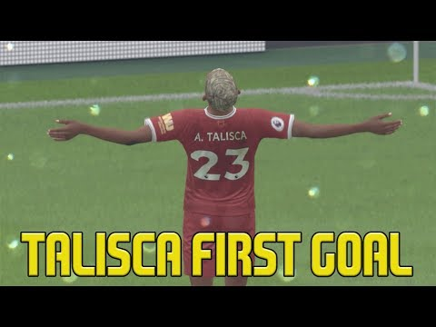 FIFA 18 Liverpool Career Mode | TALISCA SCORES 1ST GOAL FOR LIVERPOOL | Episode #38