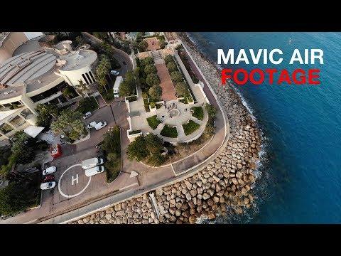 DJI Mavic Air 4K sample footage and Quick Shot testing
