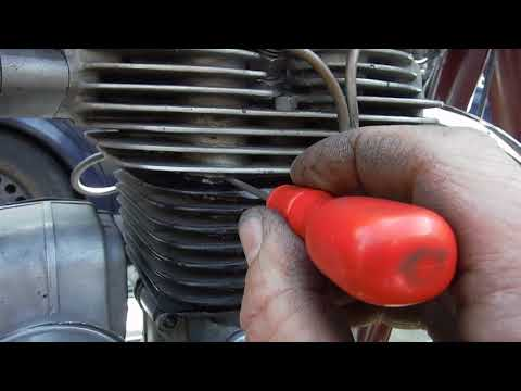 Royal Enfield copper cylinder head gasket trick by Performance Classics.
