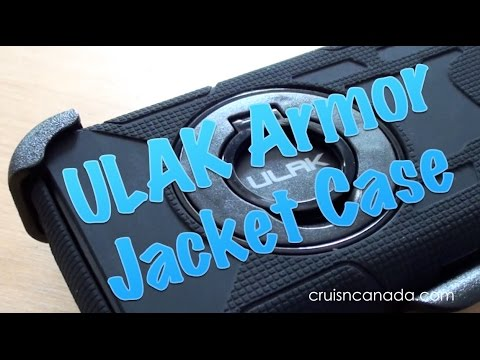 ULAK Armor Jacket Case for Apple iPhone 6 Review
