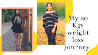 My Weight Loss Journey - How I lost 20 kgs and changed my life