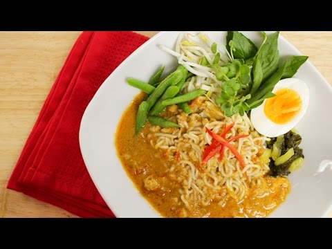 Tofu Shirataki Noodles w/ Thai Curry Sauce Recipe - Hot Thai Kitchen