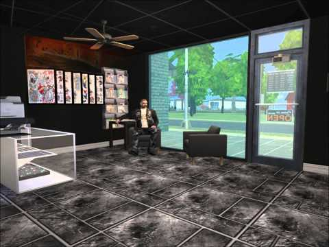 Sims 2 Ink Lounge Tattoo Shop