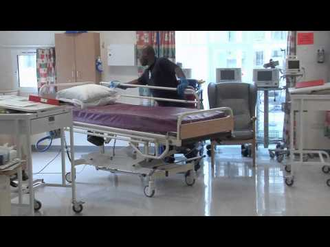 Hospital  Cleaning video