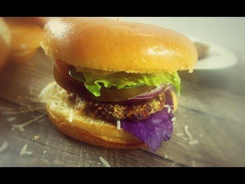 Homemade Sweet Potato Pattie Burger || Vegetable burger Veggie with Pattie