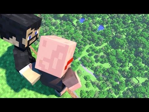 HOW TO MAKE A LEVEL 2 CRAFTING TABLE (Minecraft Animation)
