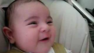 3 month old singing baby!