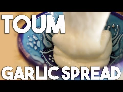 TOUM - an Arabic Garlic spread