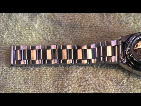 How To Adjust Band on Watch by Removing Links