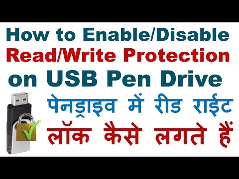 How to Enable/Disable Read/Write Protection on USB Pen Drive Using Group Policy
