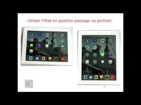 iPad iOS 7 - Initiation à l'iPad - 1 les bases