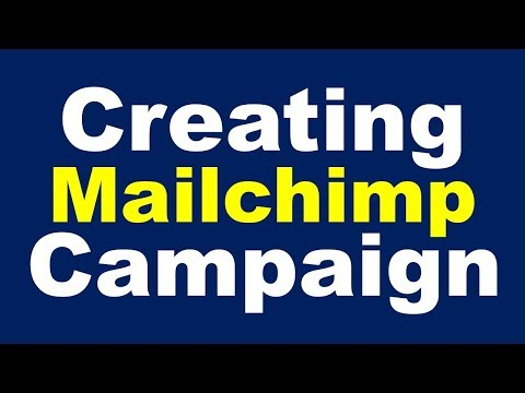 How to Send Bulk Email on Mailchimp by Creating a Campaign | Sending Bulk Email Using Mailchimp