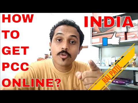 HOW TO GET POLICE CLEARANCE CERTIFICATE (PCC) ONLINE? (HINDI 2017)