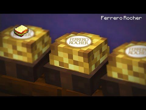 Minecraft | How to make a Ferrero Rocher