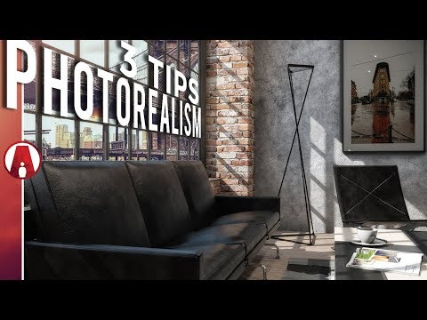 3 Tips to increase PHOTOREALISM | Vray 3.6 for Sketchup