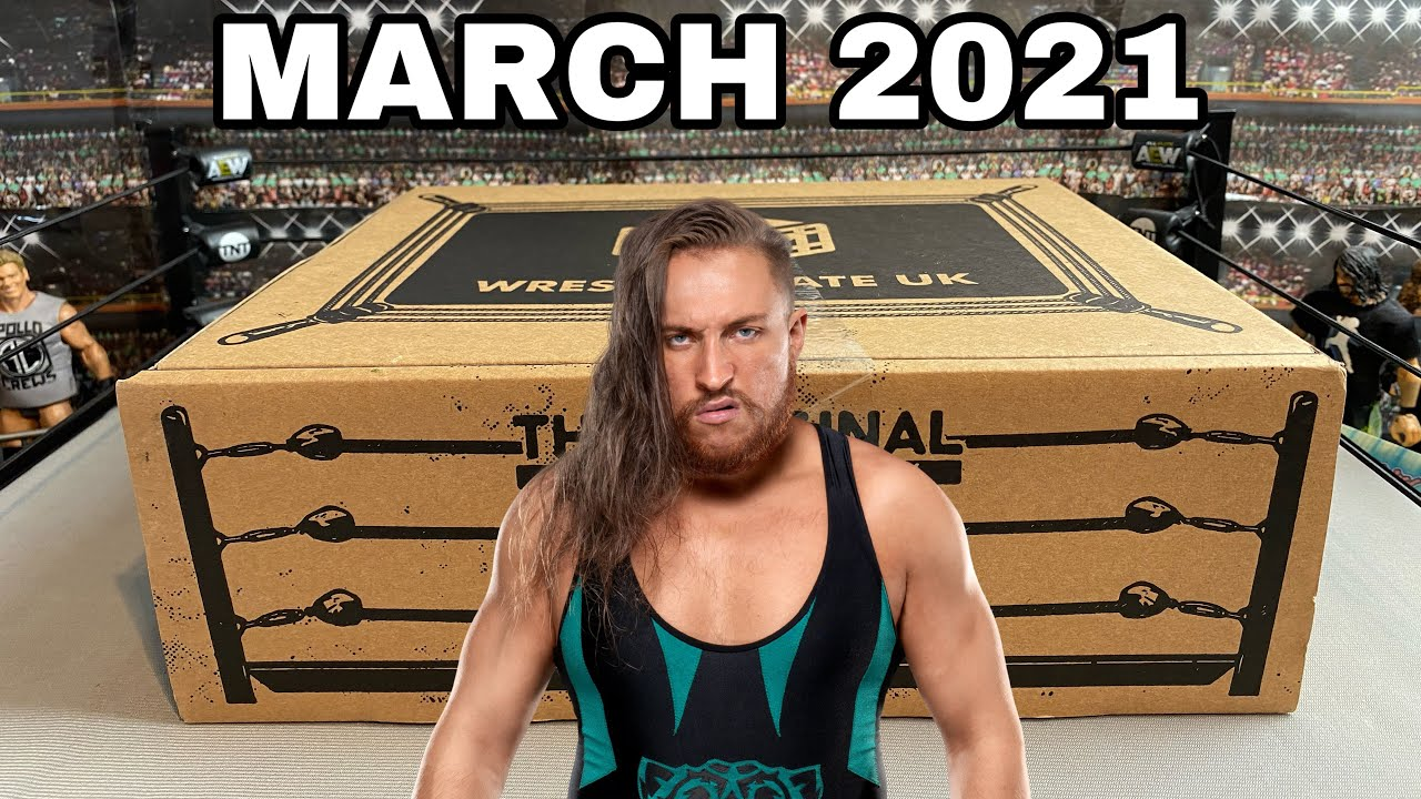 WRESTLE CRATE UK UNBOXING MARCH 2021