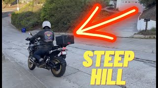 How To Do U-Turns On A Steep Hill | Low Speed Turning Tips