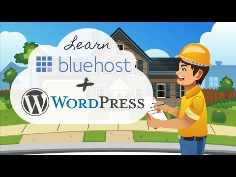 How To Make a WordPress Website at Bluehost - 2019