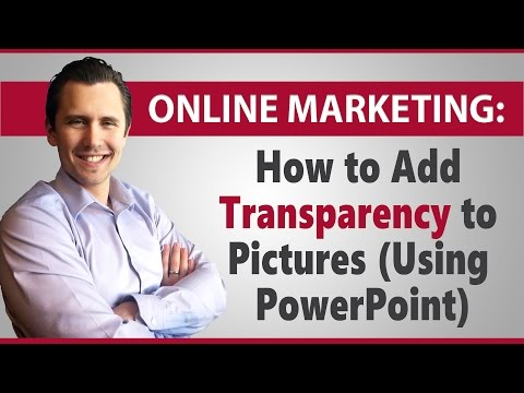 How to Add Transparency to Pictures (Using PowerPoint)