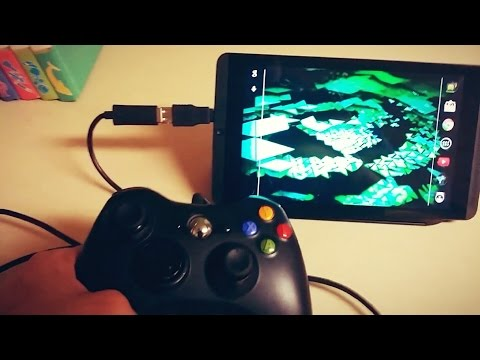How to connect a XBOX 360 Controller to your Android Nvidia Shield Tablet