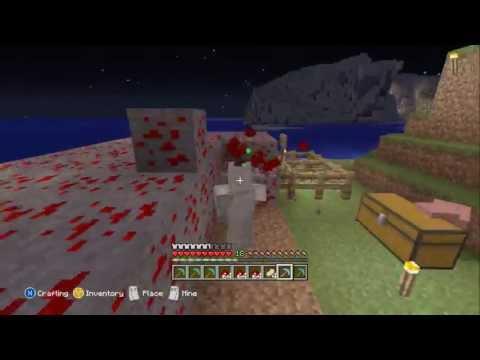 Minecraft Xbox 360 - Mining 5000 Redstone Ore Blocks.