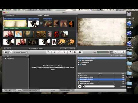 Adding Music and Sound Effects in iMovie