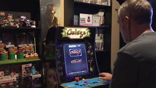 Arcade1up asteroids/asteroids deluxe gameplay! - myvideoplay