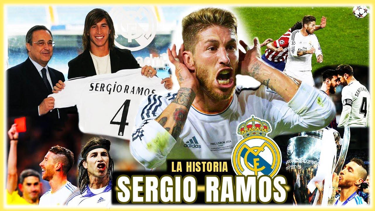 SERGIO RAMOS ⭐ La LEYENDA del CAPITÁN del REAL MADRID (2005-2021) 🤍