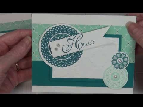 Easy Lacy & Lovely Card