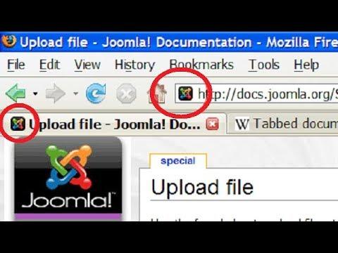 find joomla favicon location and change it(change joomla browser tab icon)