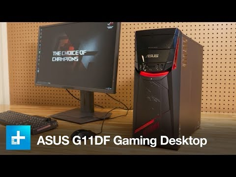Asus G11DF Gaming Desktop - Hands On Review