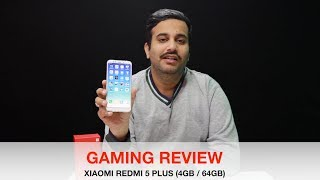Xiaomi Redmi 5 Plus - Gaming Review In Hindi