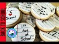 How to make Back to School Cookies | Pinch of Luck