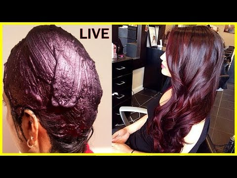 100% Pure Burgundy Color With Heena Powder - Natural Maroon Hair Color Dye