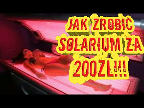 Jak zrobić solarium saune na podczerwień za 200zl!!! ( Infrared )