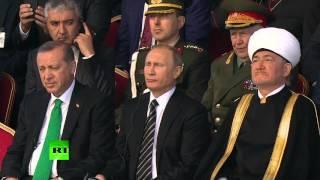 Putin, Abbas, Erdogan attend Moscow Grand Mosque opening ceremony