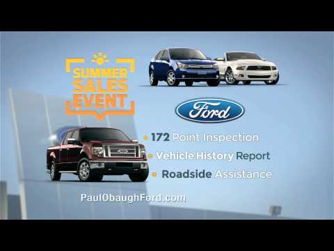 Paul Obaugh Ford Summer Sales Event 2014
