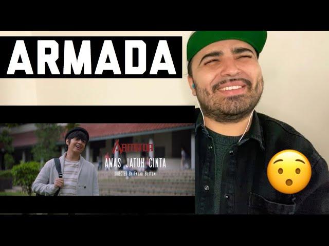 Download Reacting to Armada - Awas Jatuh Cinta (Official Music Video) MP3 Gratis