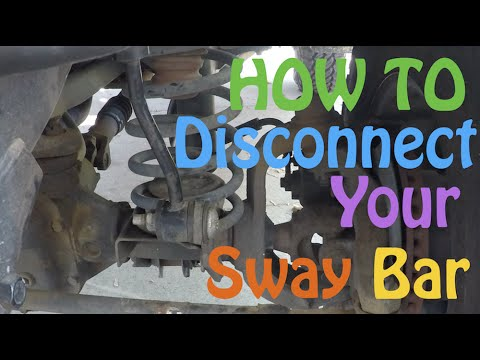 How to Disconnect your Sway Bars