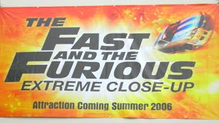 The Fast and The Furious Extreme Close-Up (Attraction Video) Universal Studio Tour