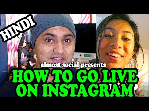 Hindi How To Go Live On Instagram