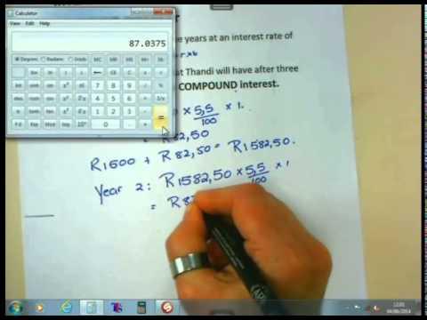 Maths Lit Basics - Gr12 - Interest