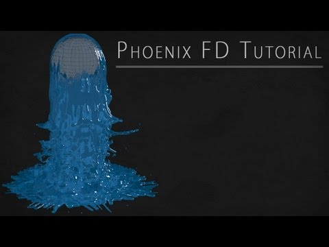 Phoenix FD Tutorial in 3ds Max [GERMAN / DEUTSCH]
